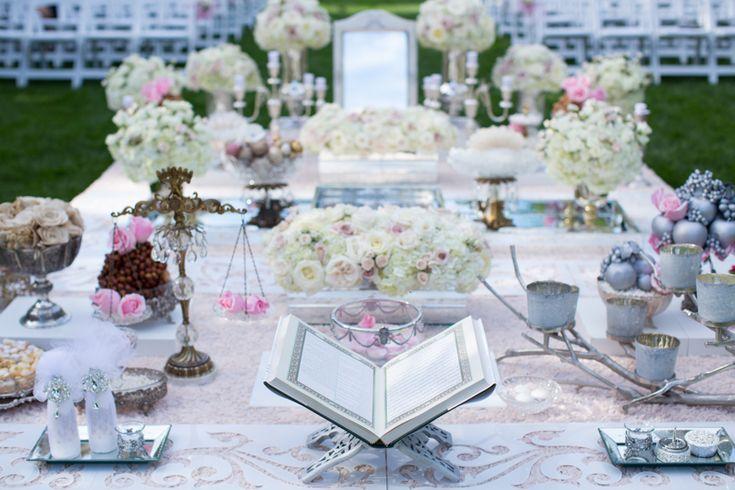 Graydon Hall Manor beautiful outdoor Persian ceremony