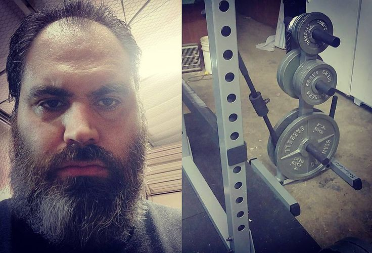 Daddy got a new toy.  Now I can keep my weights straight.  #BeardsDoItBetter #IrishMuscle #NorseSpirit #VikingStrength #PowerLifter #Bench #Squat #Deadlift #Styrkeløft #BodySolid #WeightTree by bearded_forever