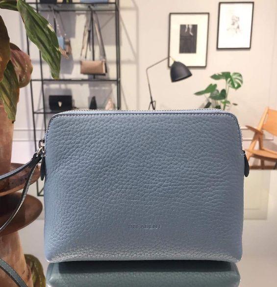DECADENT Hannah make up purse, dove blue