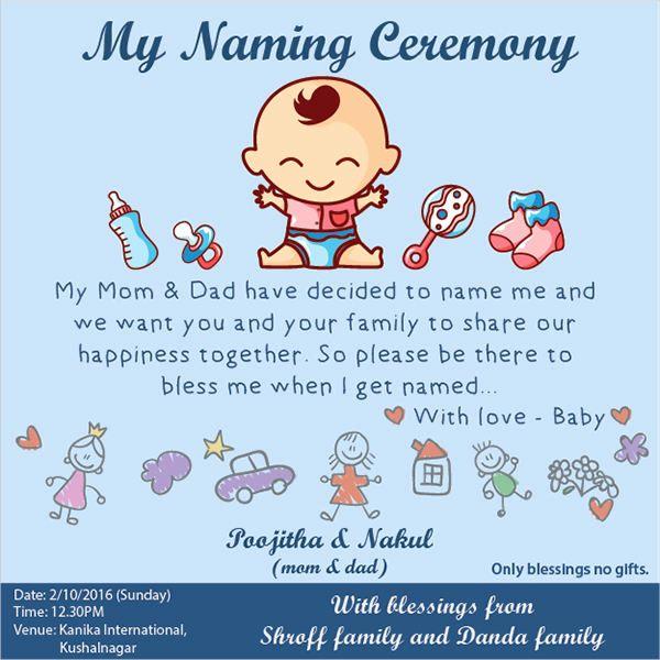 Baby Naming Ceremony Invitation Best Of 7 Naming Ceremony Invitations Download Naming Ceremony Invitation Naming Ceremony Naming Ceremony Decoration