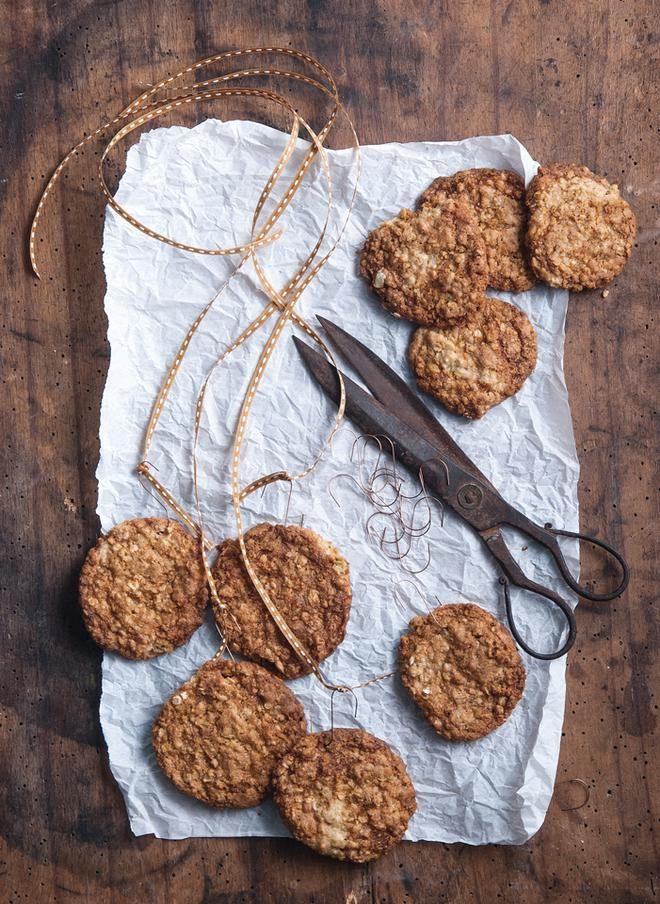 Cookies με καρύδα και νιφάδες βρόμης