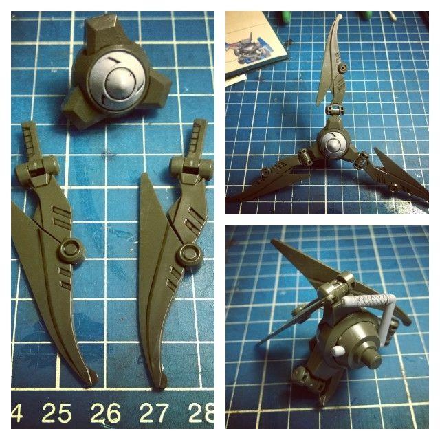 LBX Val Sparos weapon detail