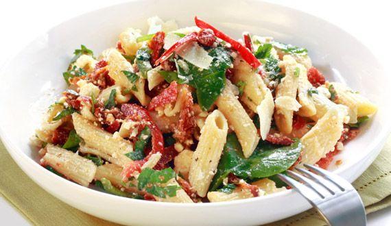 Ensalada de Pasta - Platillo Gourmet Italiano. (Visita el link para obetenr la receta)