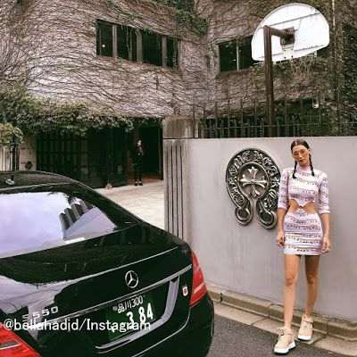海外セレブニュース&ファッションスナップ: 【ベラ・ハディッド】恋人ザ・ウィークエンドと来日!東京満喫中の写真を続々投稿!