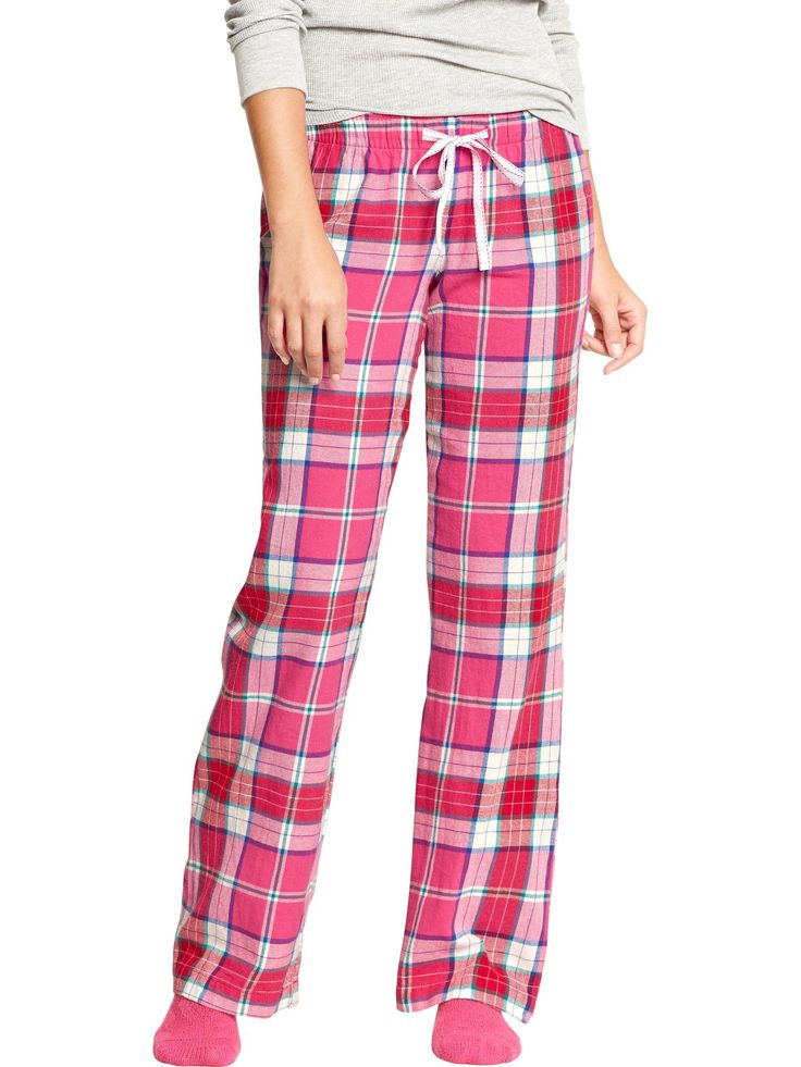 OLD NAVY | Flannel Pajama Pant, Pink Plaid.