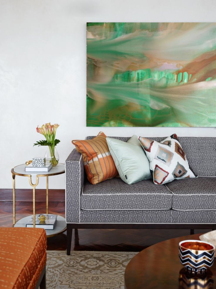 10 Reasons To Add A Patterned Sofa To Your Living Room Set | Want to give a more bold and unique look to your living room set? Here are 10 reasons that will probably make you want update your home decor with a patterned sofa. Find more here: http://modernsofas.eu/2016/06/21/reasons-add-patterned-sofa-living-room-set/