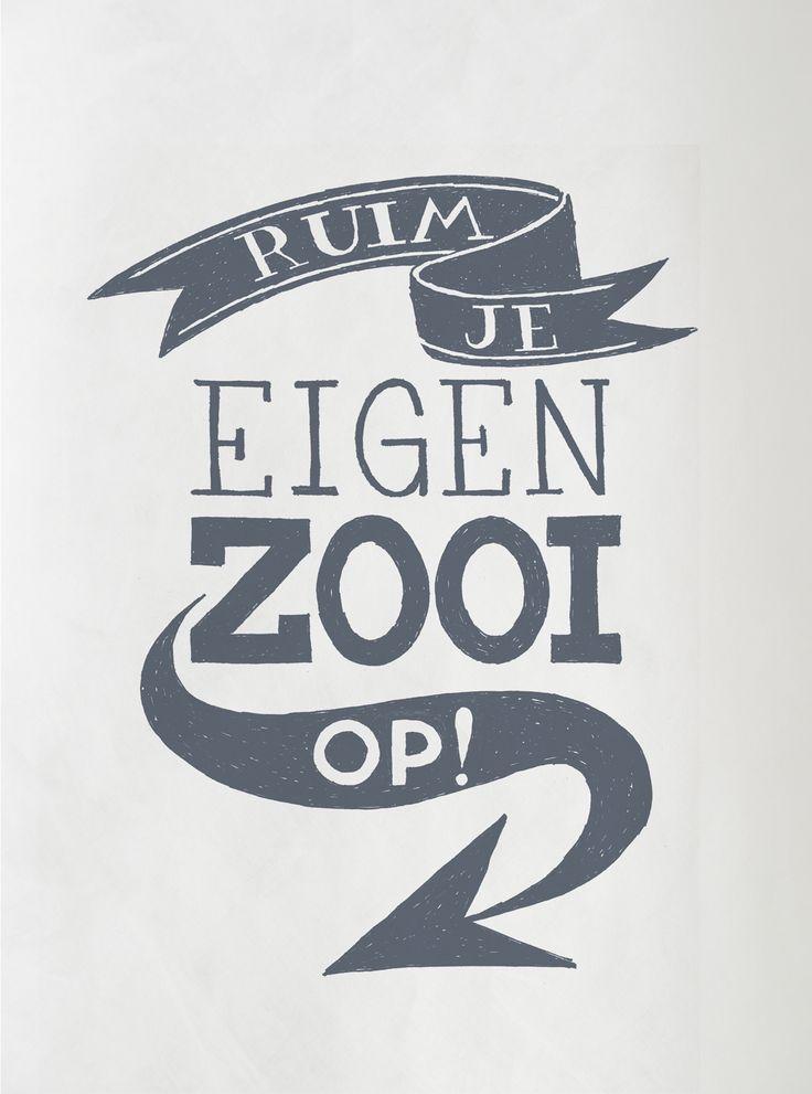 Happy page vtwonen 1 2016: Ruim je eigen zooi op!