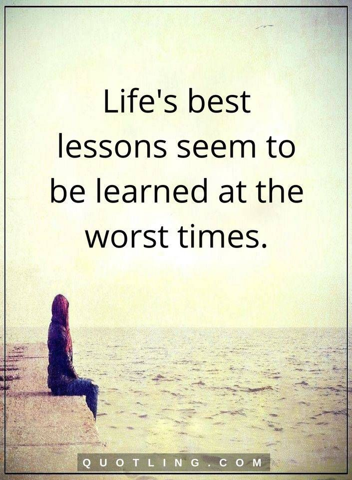 Quotes On Life Lessons Mesmerizing 319 Best Life Lessons Quotes Images On Pinterest  Quotes About Life