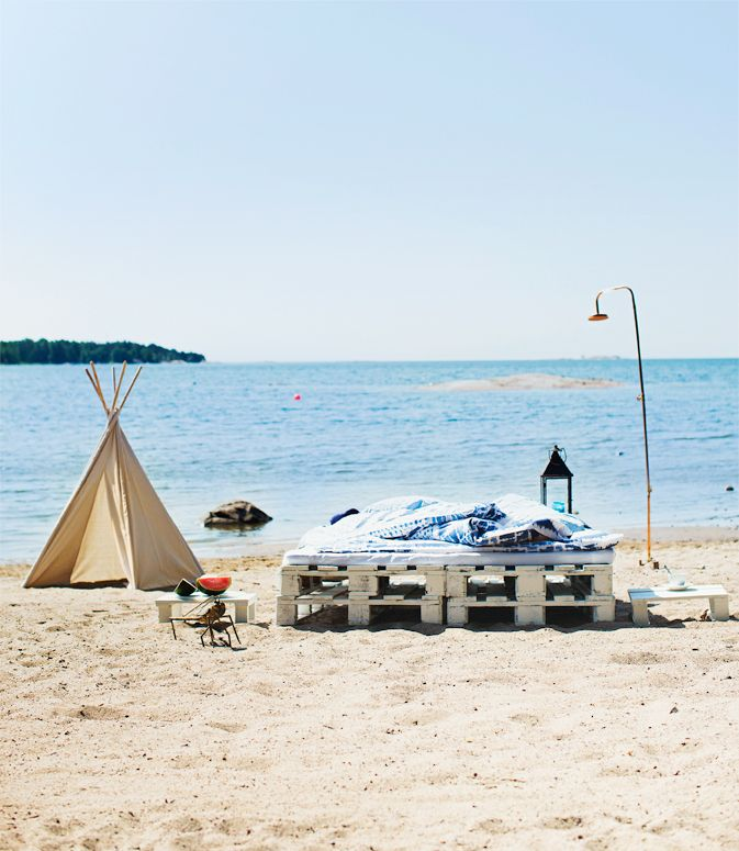It's summer time, and the living is easy… Styling Arja Löfström, photo Päivi Anita Ristell for Glorian Koti.