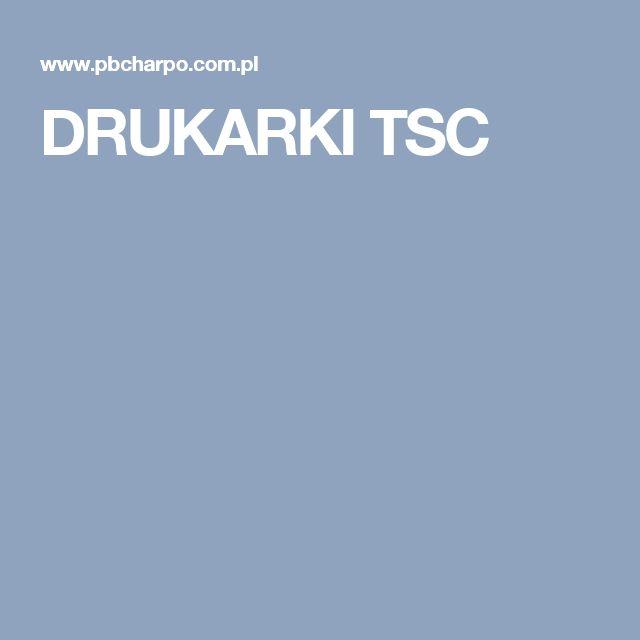 DRUKARKI TSC