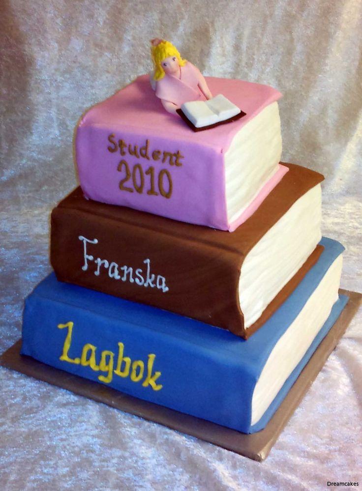 Böcker, böcker, böcker... Vad är mer passande till en juridikstudent?
