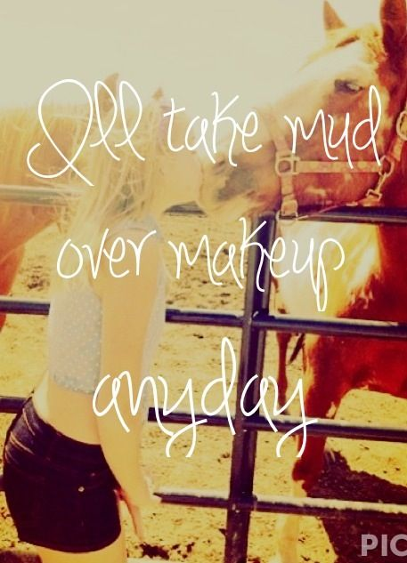 Truth is, I would. Any day. :) #countrygirl