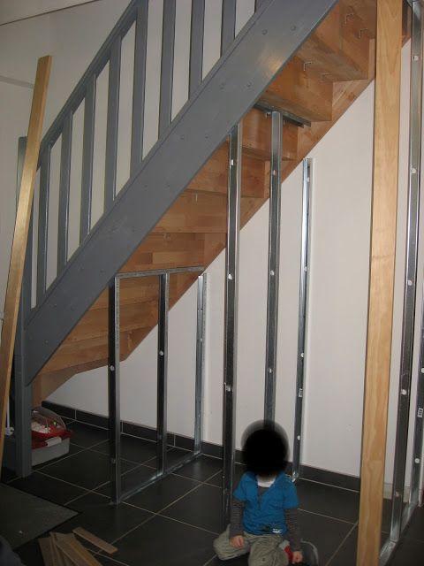 Fabriquer Un Meuble A Chaussure Sous Escalier.Diy Meuble Sous Escalier