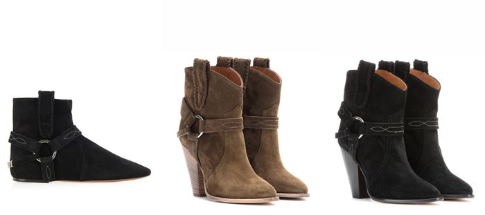 Isabel Marant Shoe Spring Summer 2015 Collection #Marant #Zapatos #Botines #Cowboy #Colecciones #IsabelMarant