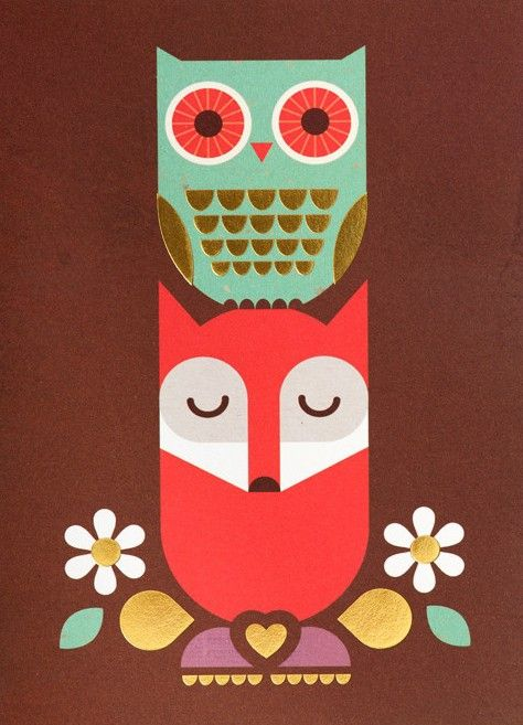 'Mr. Fox and Olive the Owl' by Kelly Hyatt