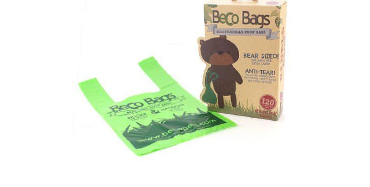 Beco tašky slúžia na upratovanie po tvojom domácom maznáčikovi a sú zároveň šetrné k životnému prostrediu. Vďaka rozložiteľnému materiálu sa začnú postupne rozpadávať už hneď po tom, čo ich použiješ. Dokonca aj vnútorný kotúčik je recyklovateľný. Okrem toho sú tašky extra veľké a pevné, čo ti pomôže vyhnúť sa nepríjemným nehodám.