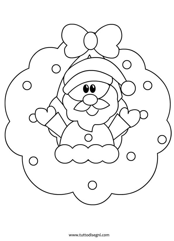Addobbi Natale porta aula - Tutto Disegni