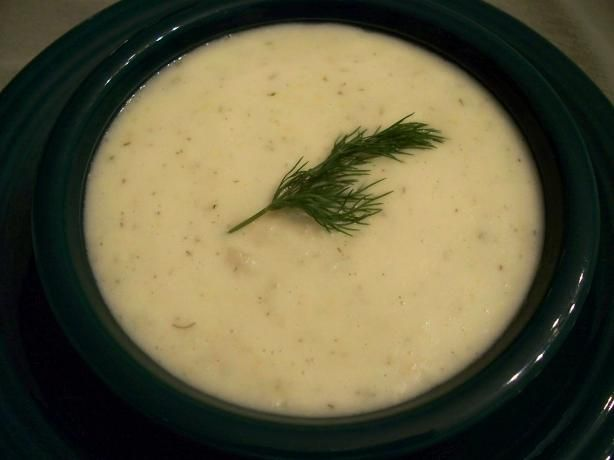 Crock Pot Potato Dill Soup - for all that fresh dill we have growing in our herb garden! Lighten up the recipe with half the butter and fat free evaporated milk.