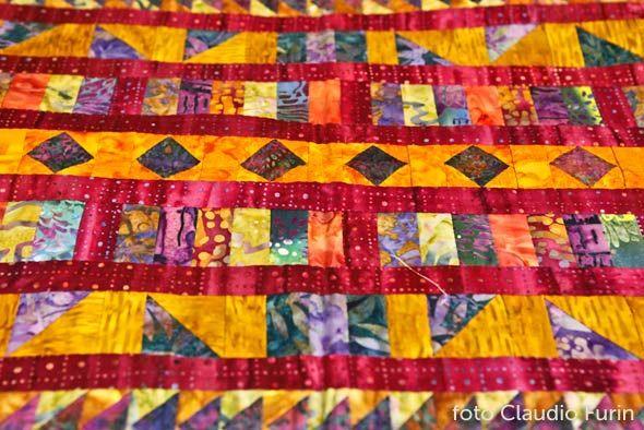 patchwork-Girlanda