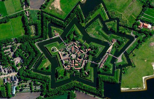 Vlagtwedde, Países Baixos (Foto: Divulgação/Daily Overview)
