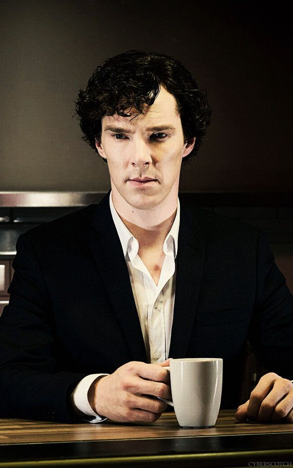 Sherlock ..and coffee <3  (Yes I know it is tea.. but I prefer coffee and its my Sherlock board)