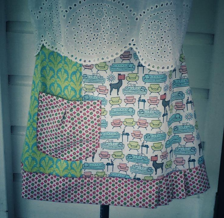 Size 12 Grand Designs Skirt by StitchedUpBySmith on Etsy