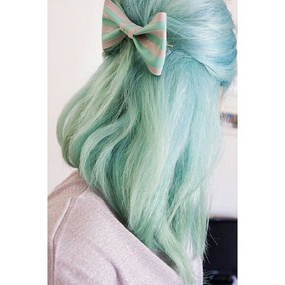 40 Chicks With Cool Mint Dyed Hair Hair Colors Pinterest