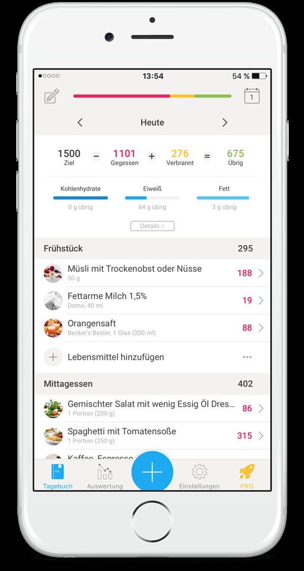 Kostenlose YAZIO App