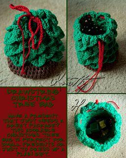 Christmas_tree_bag_small2 (Christmas tree drawstring bag) to put small gifts into