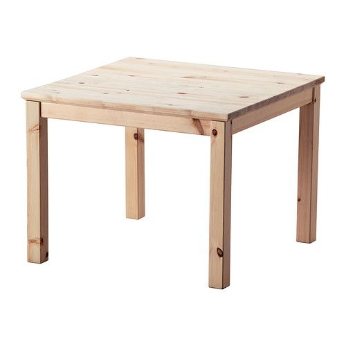 Ikea Coffee Table Material: NORNÄS Coffee Table IKEA Untreated Solid Pine Is A Durable