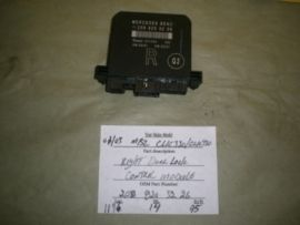 Used Auto Parts You Need: Mercedes Benz CLK320 - Control Module - 208 820 32...