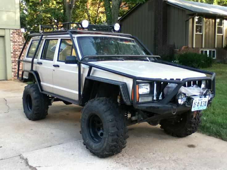 1995 Jeep Cherokee Xj With Exo Cage Quot The Critter Quot For