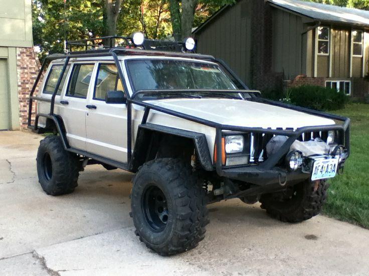 Jeep Xj Exo Cage Pics