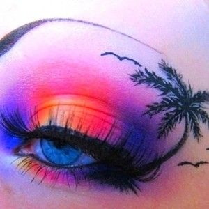 This digital photography of Glitter Eye Makeup Ideas has dimension 500 × 392 pixels.