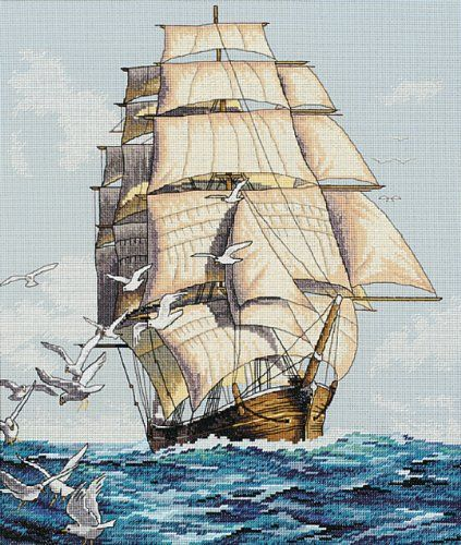 Dimensions Needlecrafts Counted Cross Stitch, Clipper Ship Voyage $13.17