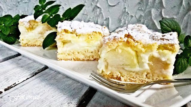 Ewa w kuchni: Ciasto z jabłkiem i pigwą