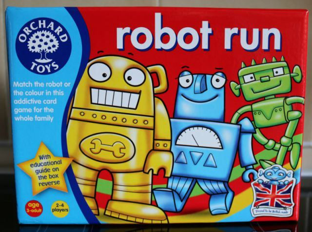 Robot Run - review and giveaway - Over 40 and a Mum to OneOver 40 and a Mum to One