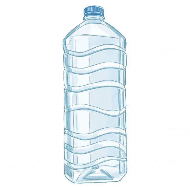 Dibujo Botella De Plastico