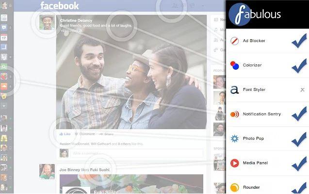 Descarga Fabulous   App para personalizar tu Facebook a tu gusto (Chrome)  Read more: http://www.tueresmivida.net/search/label/Tecnolog%C3%ADa#ixzz37VDVTrUZ