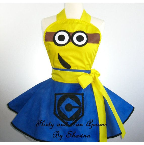 Flirty Adult Minion Costume Apron ($55.00)