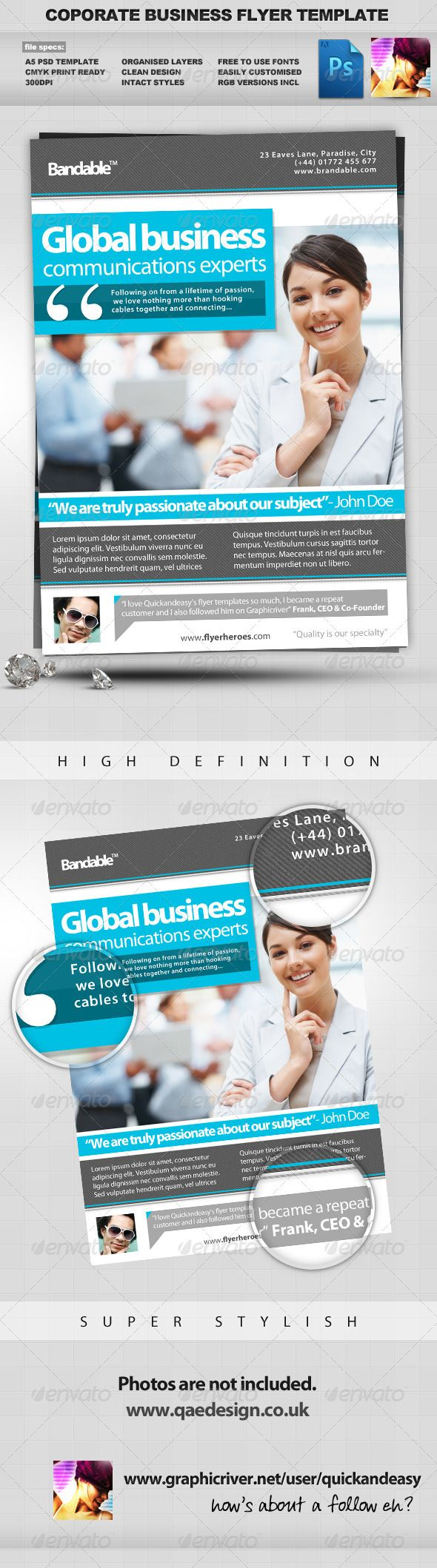 1000 images about print templates fonts flyer corporate business psd flyer template
