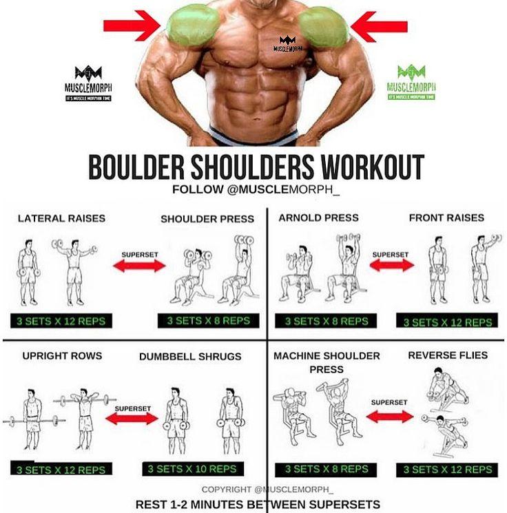 Boulder shoulder workout Superset musclemorph https://musclemorphsupps.com