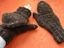 Marktfrauenhandschuhe aus Schafwolle