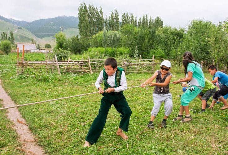 Türk Dünyası Çocuk Oyunları
