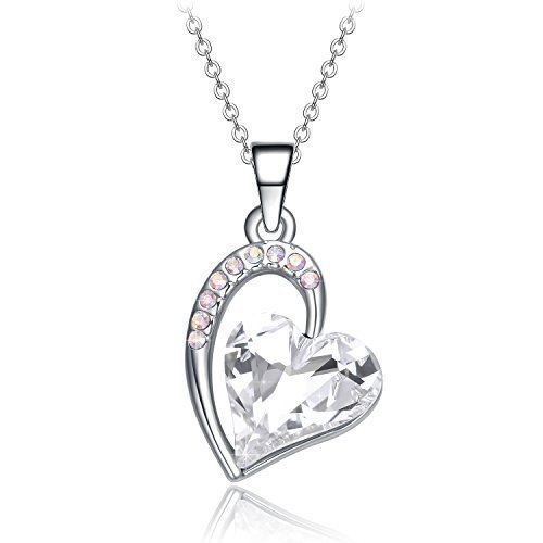 Necklace Pendant Gift for Women Girls Anniversary Birthday Love Heart for Her #ValentinesDayGiftNecklacePendant