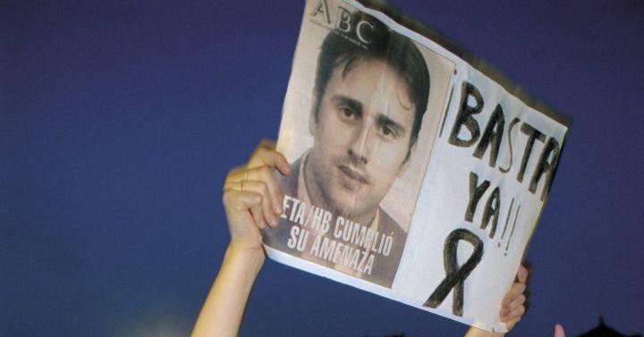 Aniversario asesinato Miguel Ángel Blanco: Los sonidos del secuestro y asesinato de Miguel Ángel Blanco | España  | Cadena SER