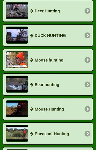 Hunt animals free offers totally free every video game shotgun, rifle or hunting dogs. <br>This app contains videos: <br>• Deer Hunting <br>• Hunting boar <br>• Dove Hunting <br>• Rabbit hunting <br>• Hunting hare <br>• Partridge Hunting <br>• Waterfowl H http://riflescopescenter.com