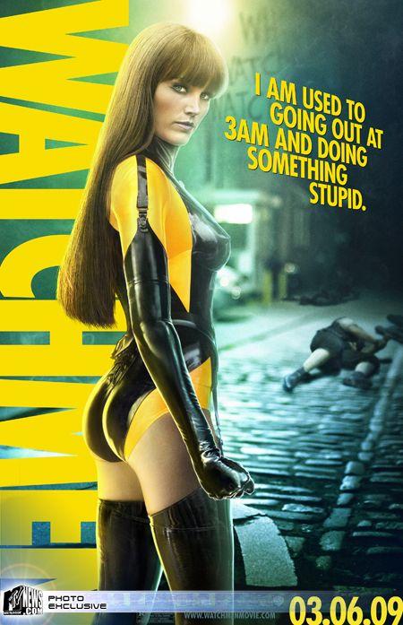 'Watchmen' Silk Spectre II Poster
