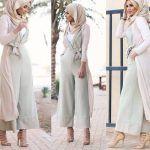 Casual chic hijab 2016