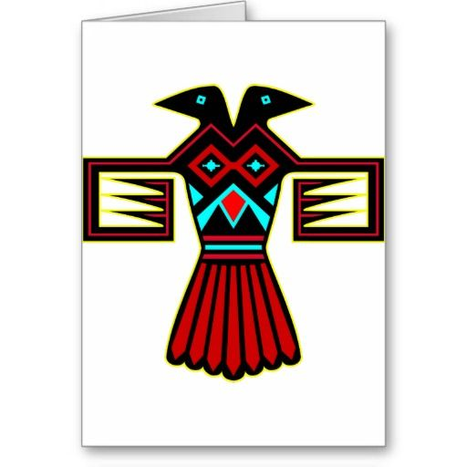 12 best greetings images on pinterest native american indians native american indian bird thunderbird card m4hsunfo